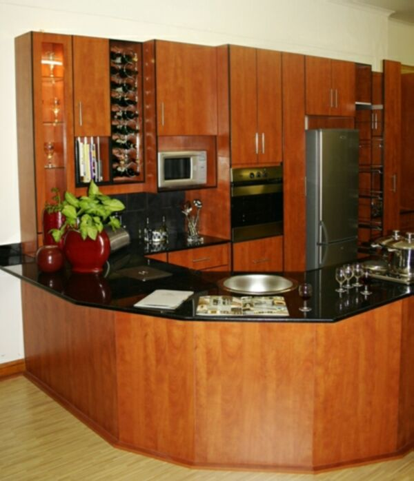 Kitchens quick fit cupboards and granite for Kitchen designs pretoria